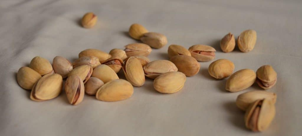 What are nuts in the food pyramid