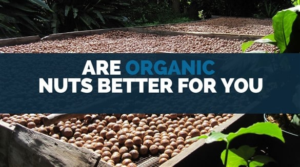 are organic nuts better for you