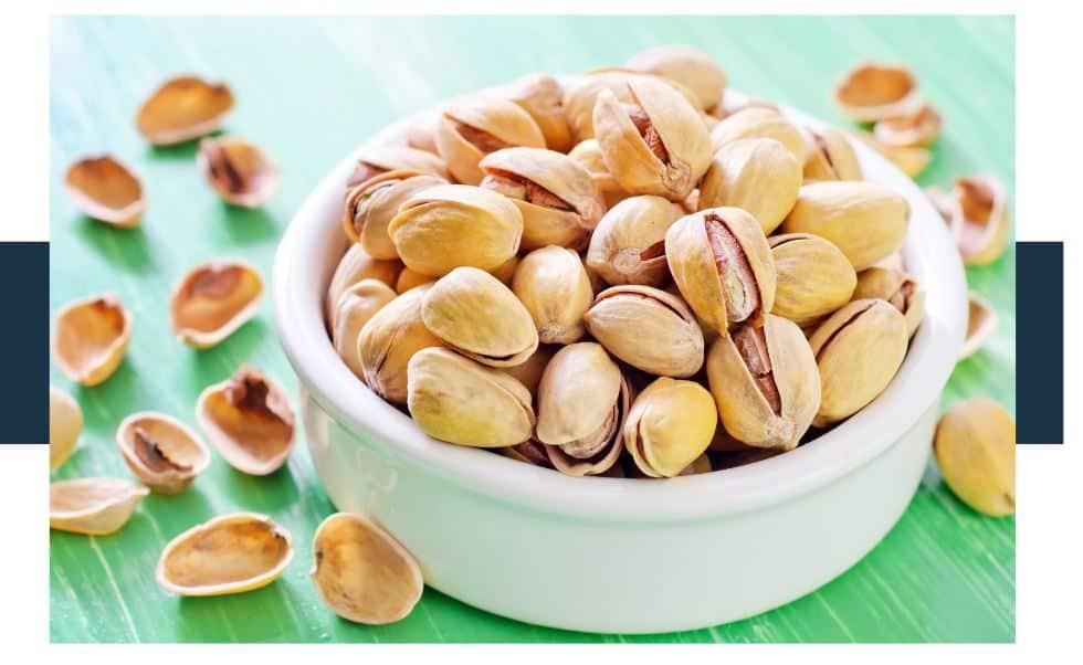 melatonin levels in pistachios