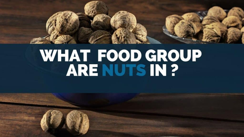 what food group are nuts in
