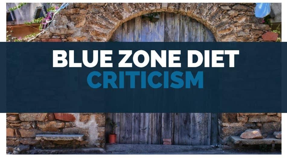 blue zone diet criticism