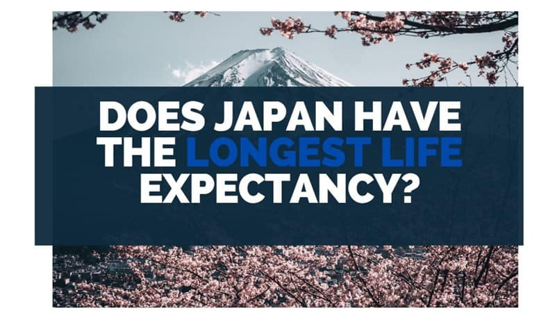 does japan have the longest life expectancy
