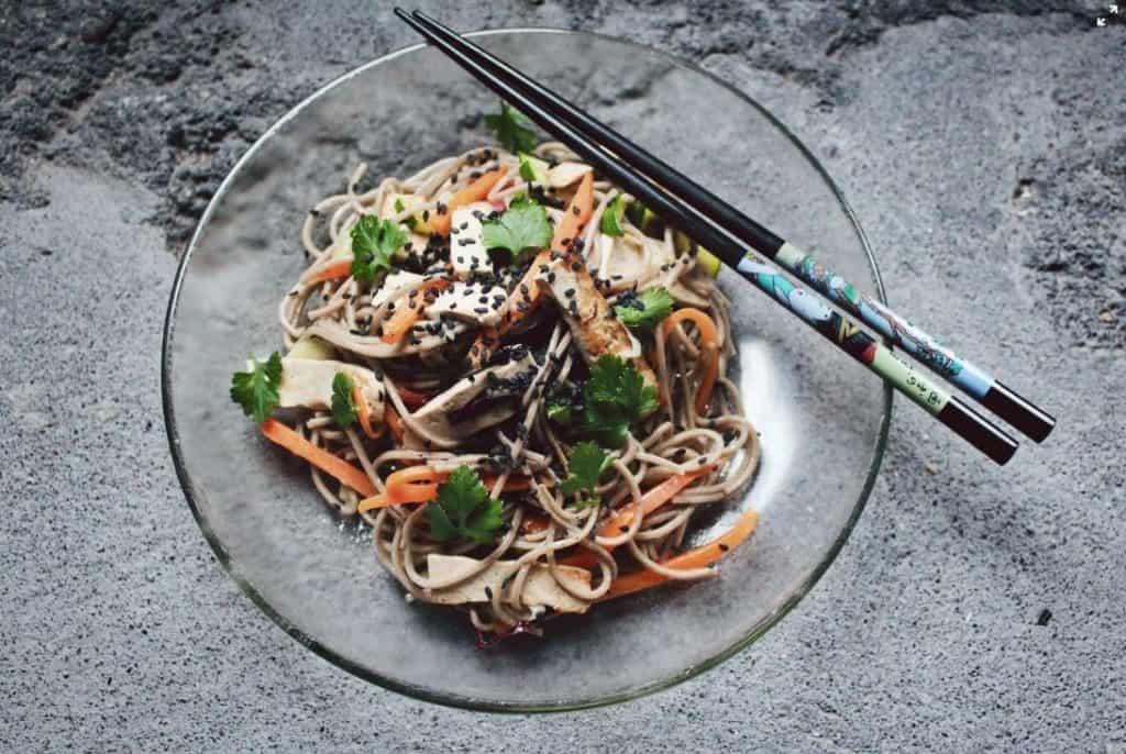 okinawan tofu meal for longevity