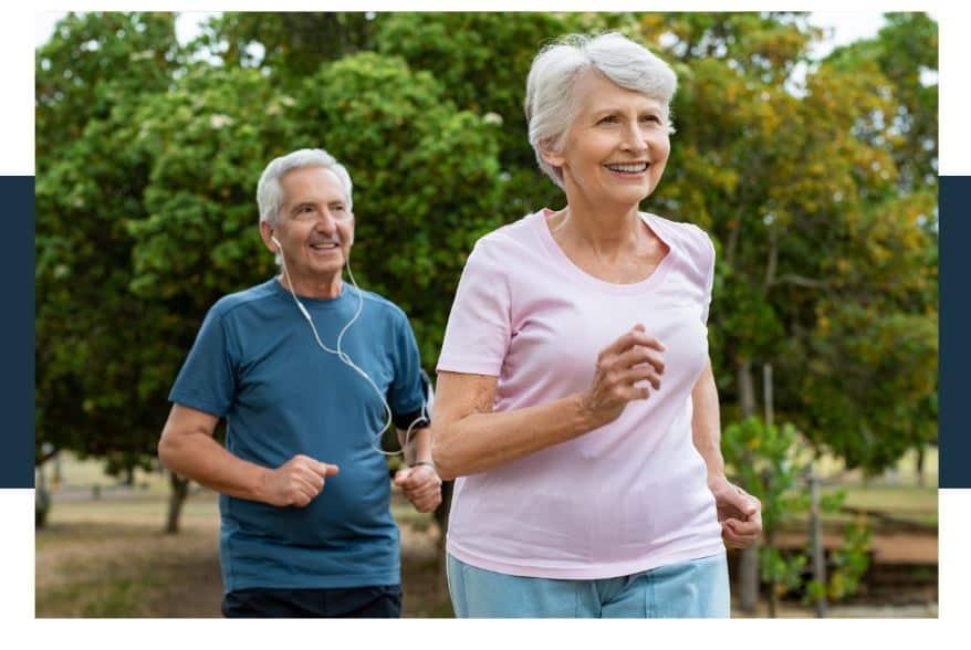 factors that influence longevity - exercising