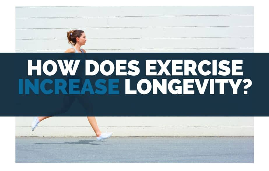 how does exercise increase longevity