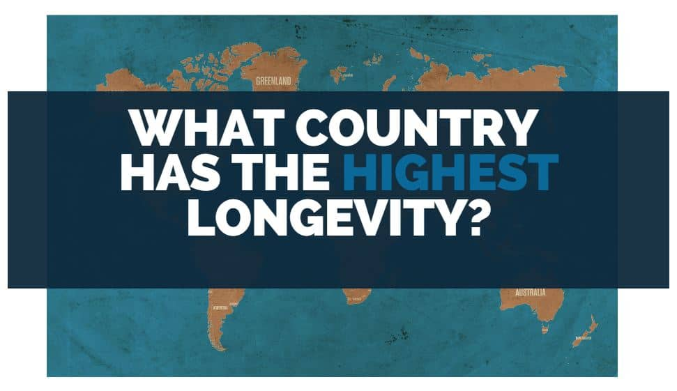 what country has the highest longevity