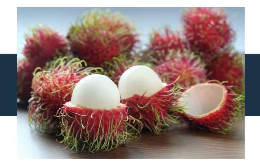 what does rambutan taste like