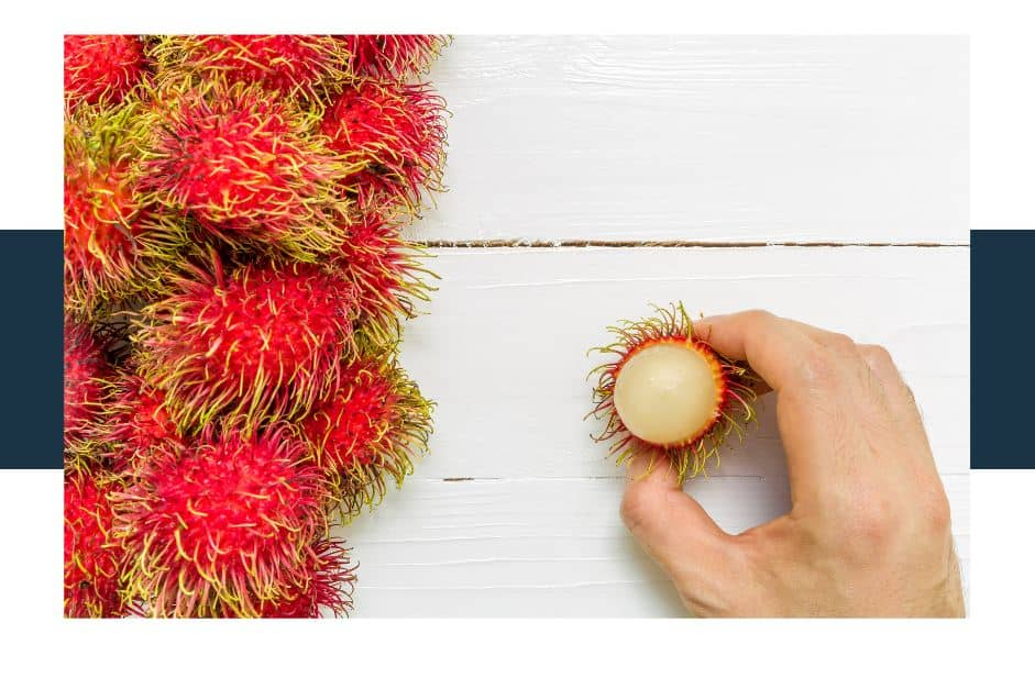 what is the nutritional profile of rambutan