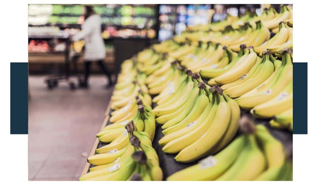 Are organic bananas more expensive than regular