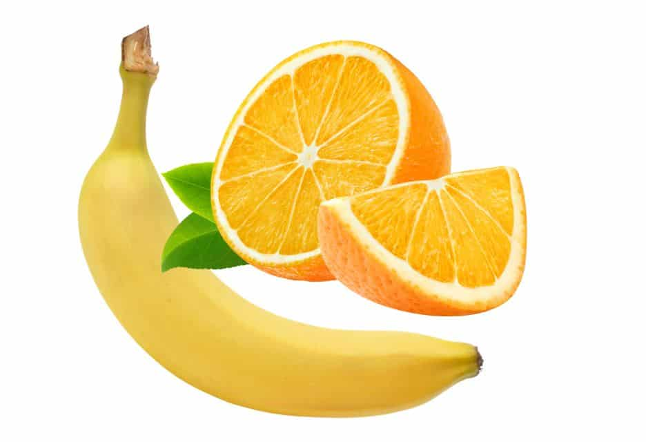 Bananas versus citrus fruits nutrition