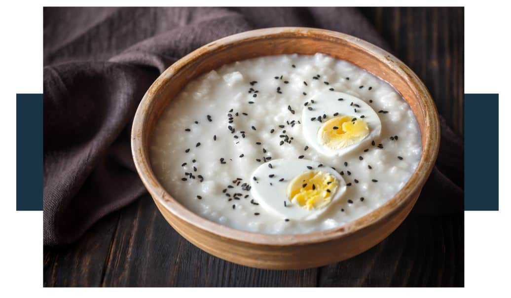 how is congee made