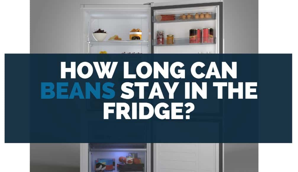 how long can beans stay in the fridge