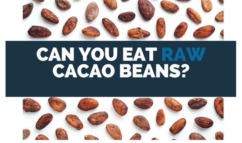 can you eat raw cacao beans