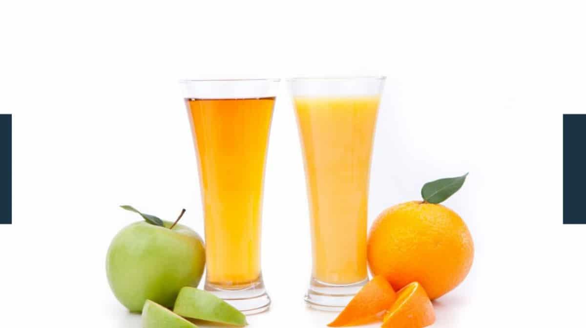 Which is Healthier Orange Juice or Apple Juice