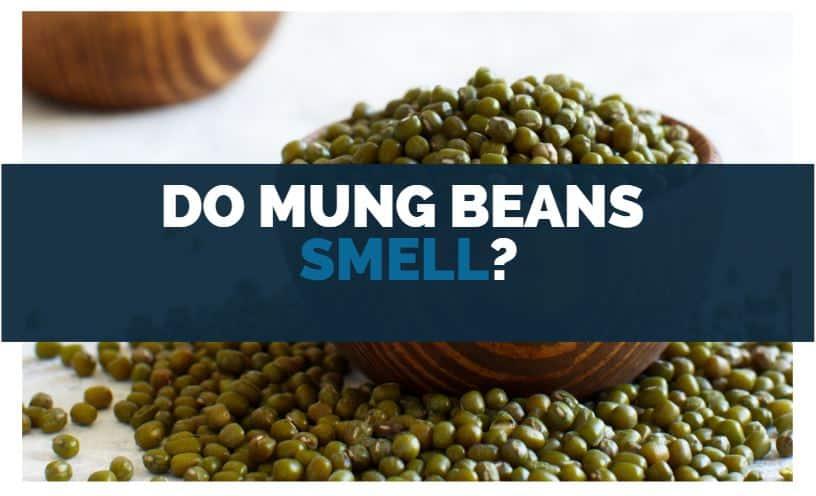 do mung beans smell
