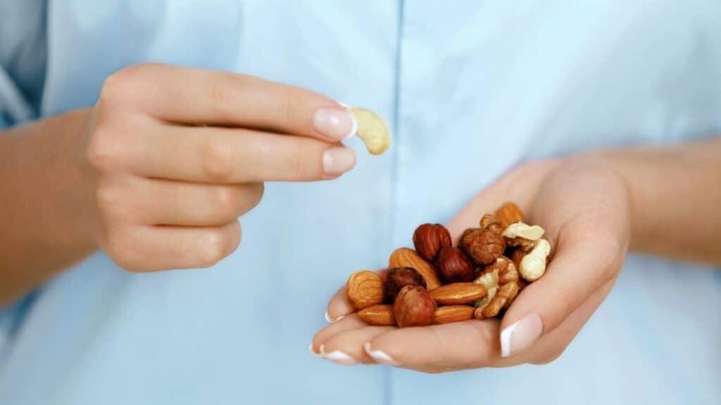 Mixed Nuts & Essential Vitamins & Minerals