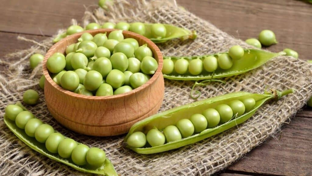 Are green peas allowed on a Paleo diet