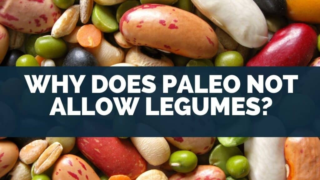 Why does Paleo not allow legumes