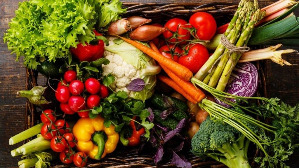 Are vegetables low glycemic