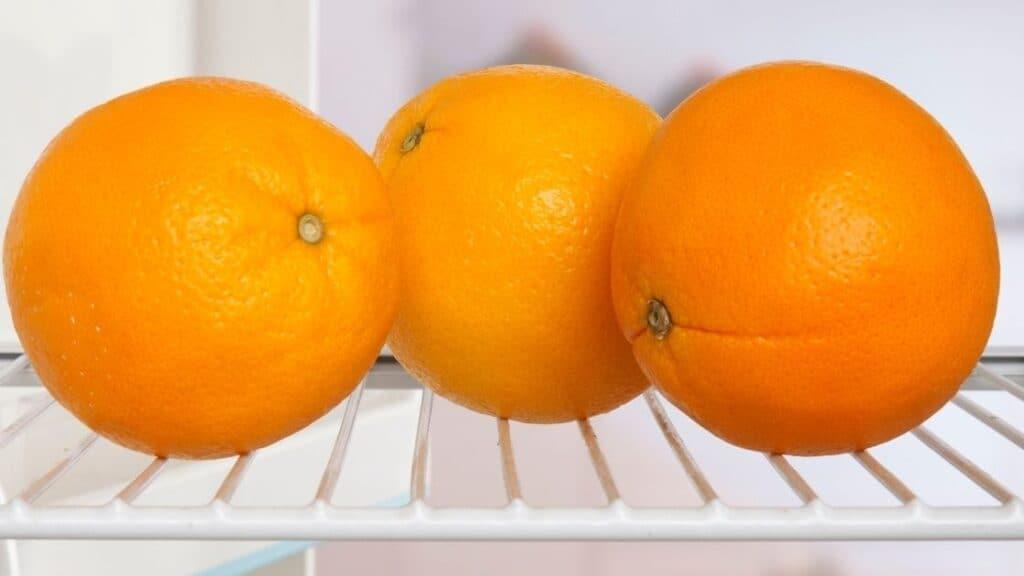 Do refrigerated oranges go bad