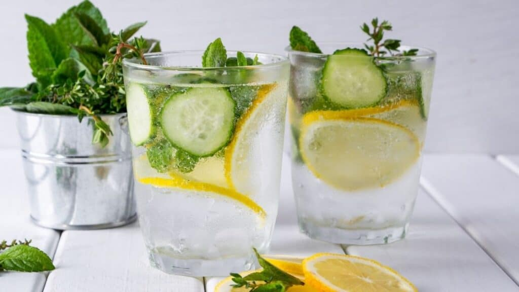 How Long Can You Leave Lemons and Cucumbers in Water