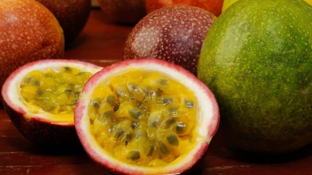 How long does it take for a passion fruit vine to produce fruit