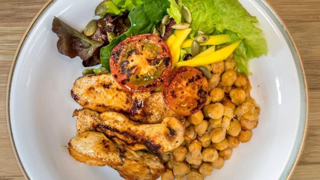 Protein in Beans vs. Chicken