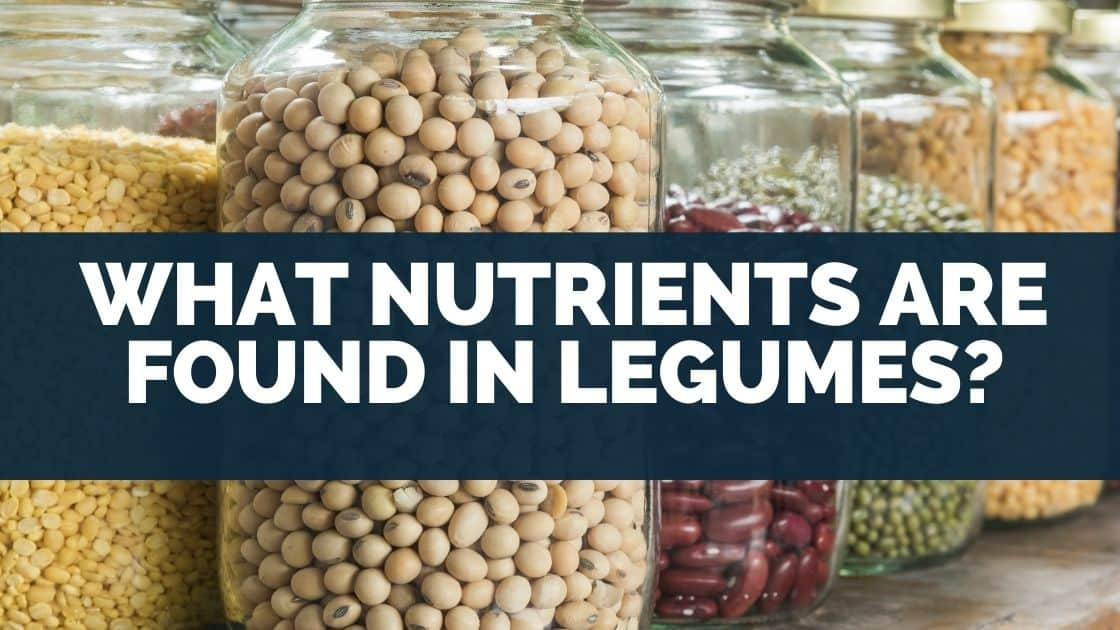 What nutrients are found in legumes