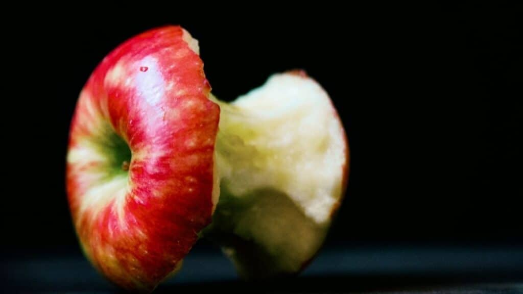 Are apple cores digestible