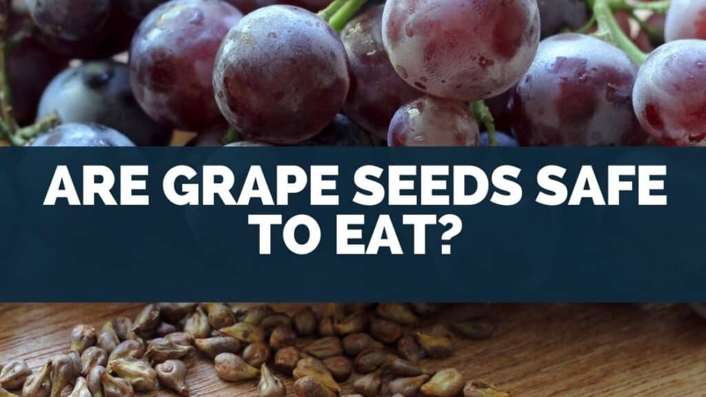 Are grape seeds safe to eat