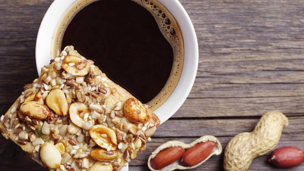 Do manufacturers put nuts in coffee