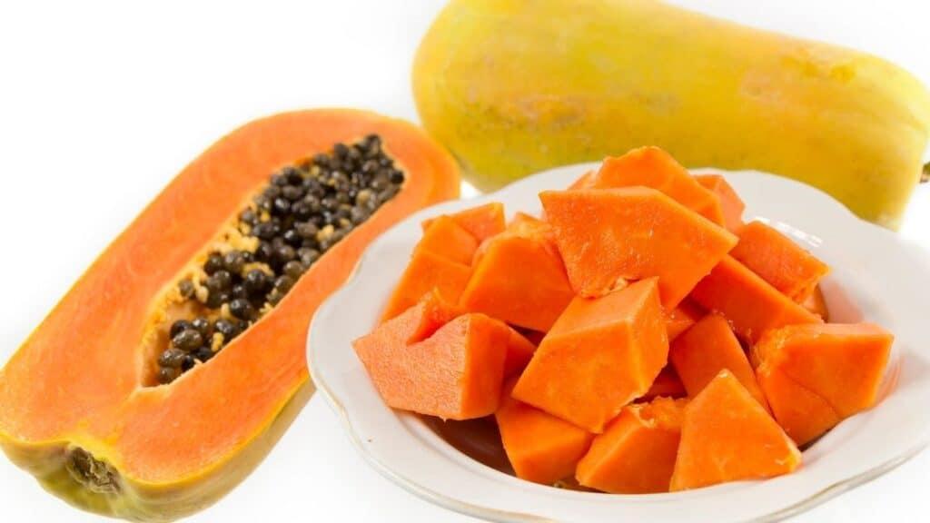 Do you take the seeds out of papaya