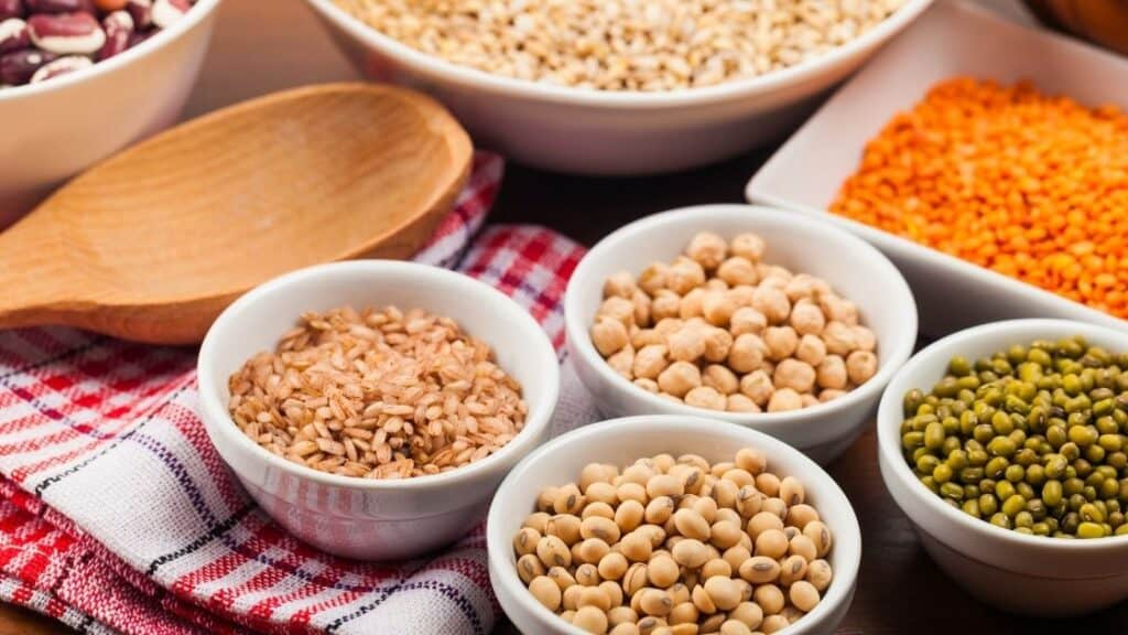 How much legumes can I eat per day