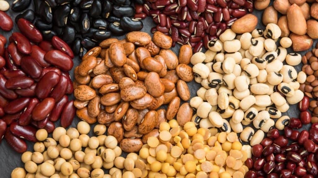 How much sugar do legumes have