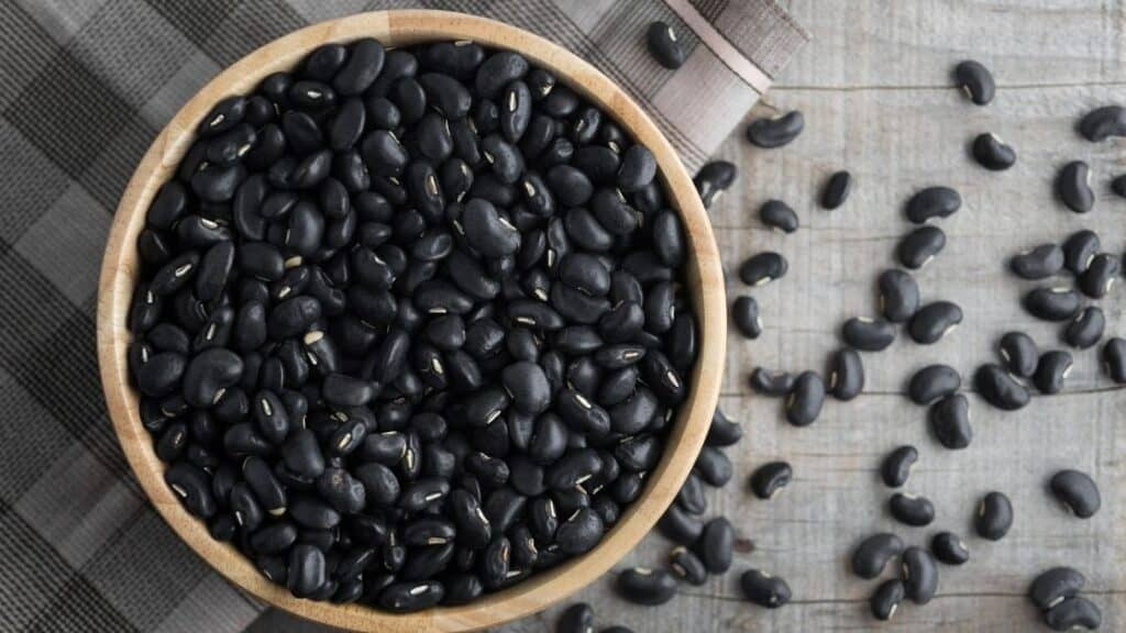 Protein in black beans
