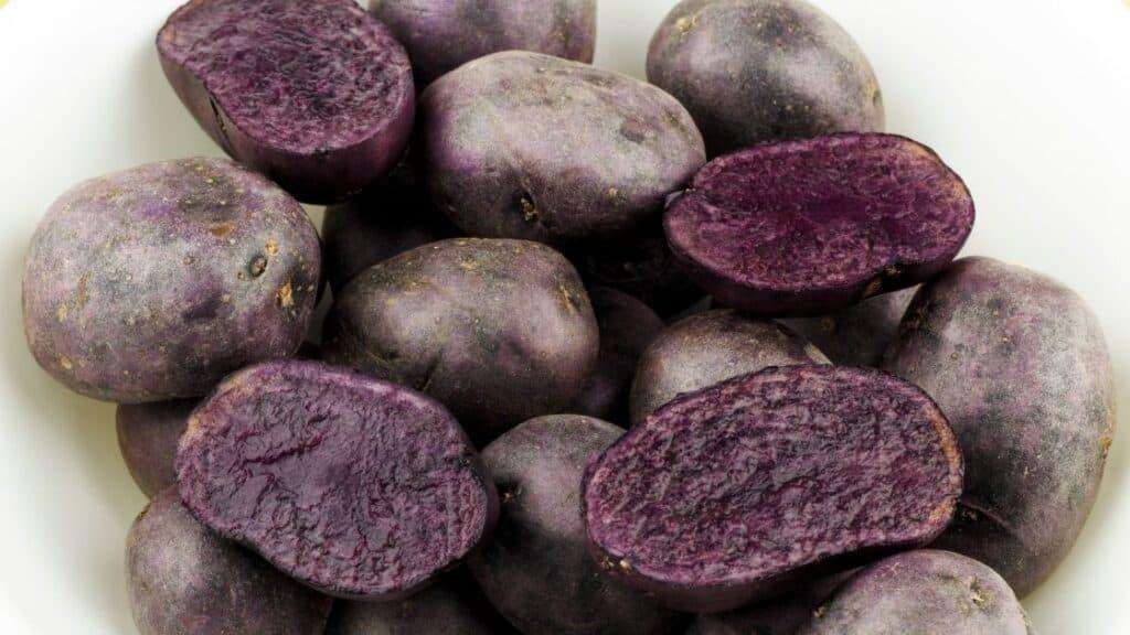 Are purple potatoes as healthy as sweet potatoes