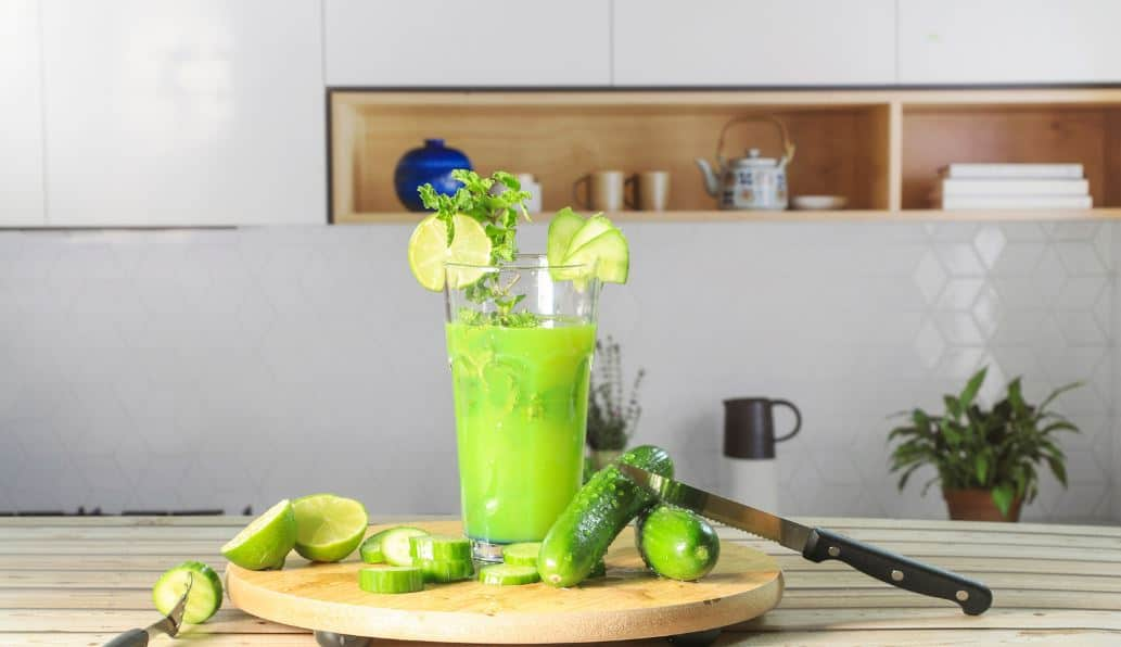 Getting rid of toxins with cucumbers