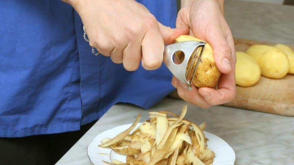 Is Potato Skin High In Calories