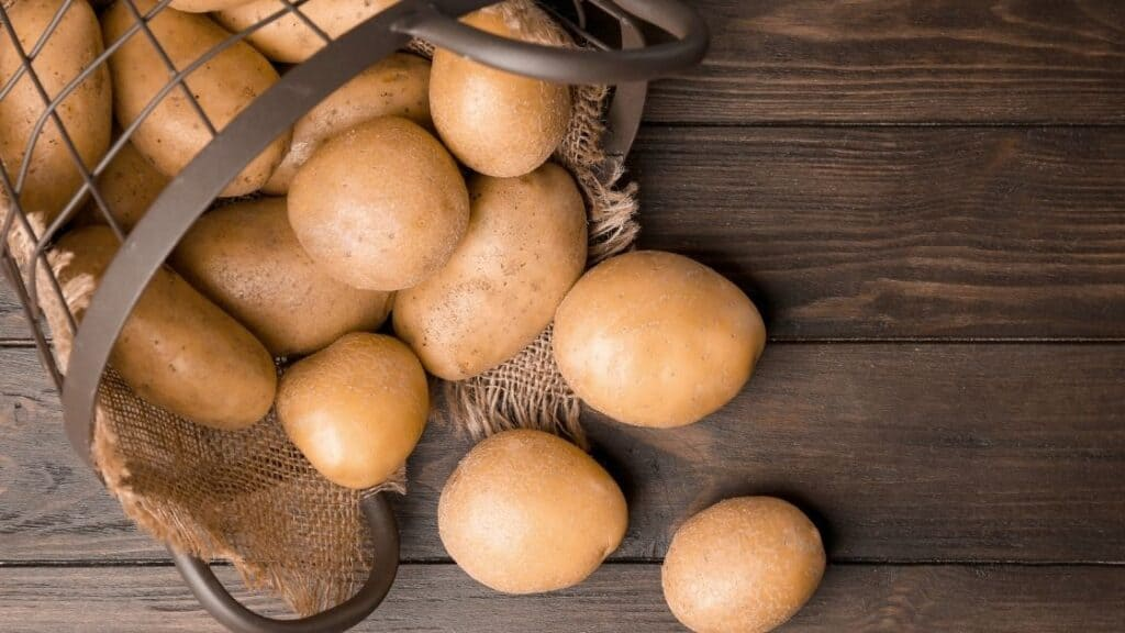 What Is A Potato On The Food Pyramid
