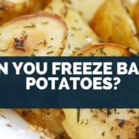 Can You Freeze Baked Potatoes