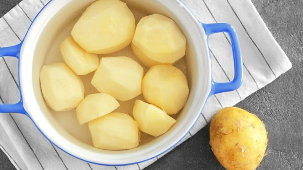 What Does Leaving Potatoes in Water Do